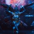 Танцевальный перфоманс «Бабочки» от шоу «Бионика»