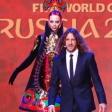 Жеребьёвка Чемпионата мира по футболу с моделями от шоу «Бионика»