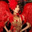Танцевальный перфоманс «Красные ангелы» от шоу «Бионика»
